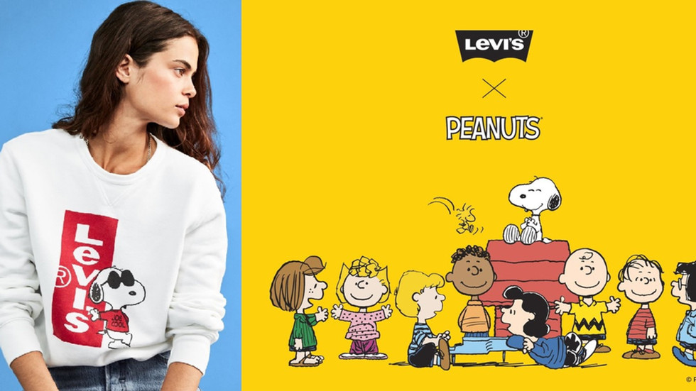 LEVI's x Peanuts: Snoopy and Friends are back in town