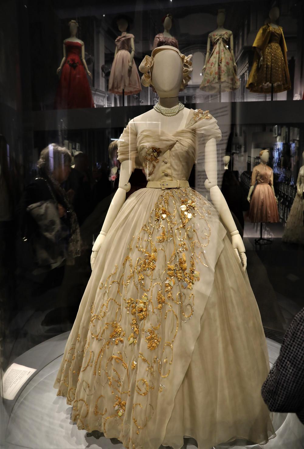 Princess Margaret's 21st Anniversary Dress
