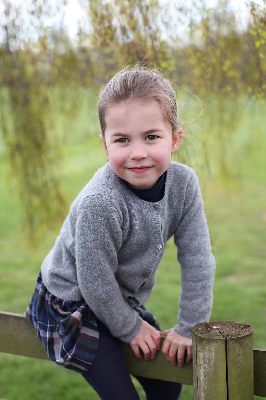 Princess Charlotte 4th anniversary