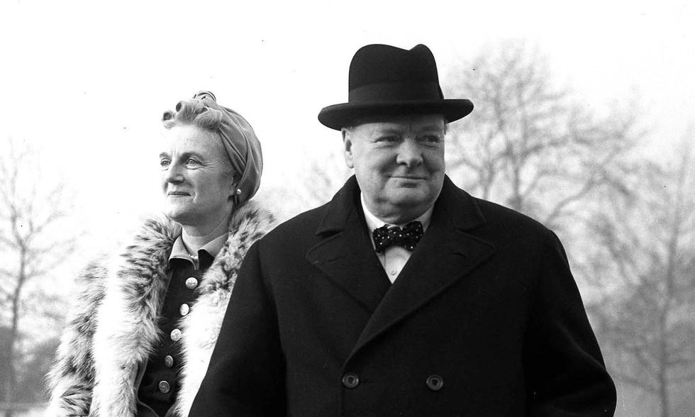 Churchill's secret affair...
