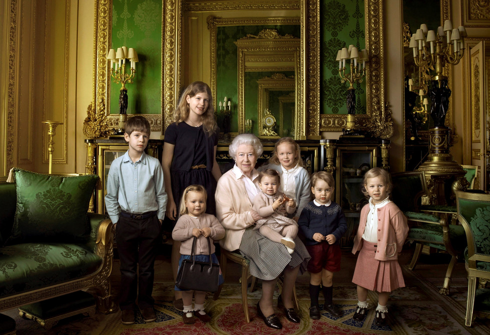 The youngest members of the British Royal Family