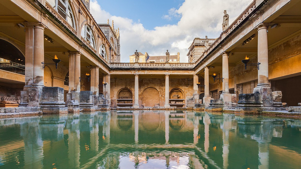 Things I've learned visiting the Roman Baths in Bath