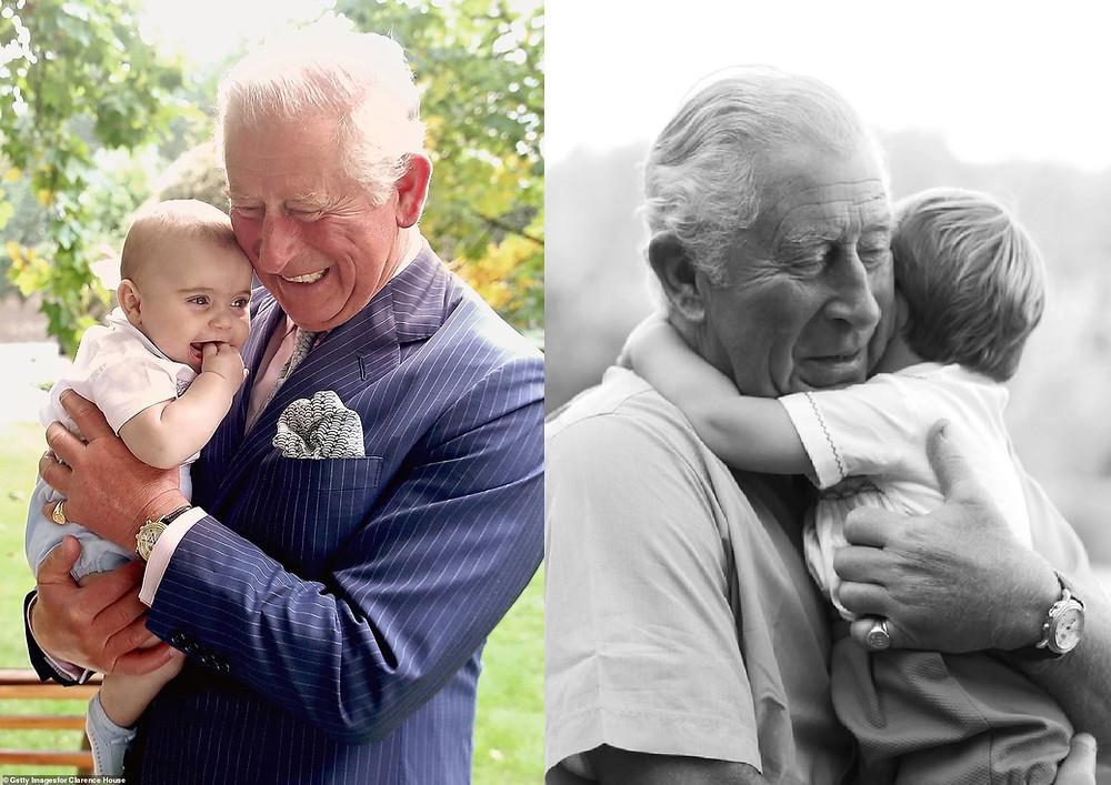 Prince Charles and Prince Louis