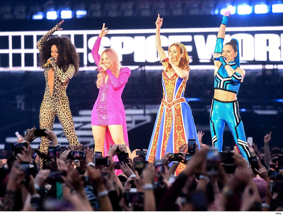 Girl Power's back: the first images of the Spice Girls reunion tour