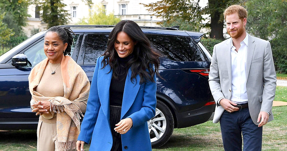 The Sussexes and Doria Ragland
