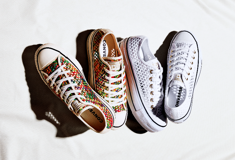 Converse launches new crochet collection
