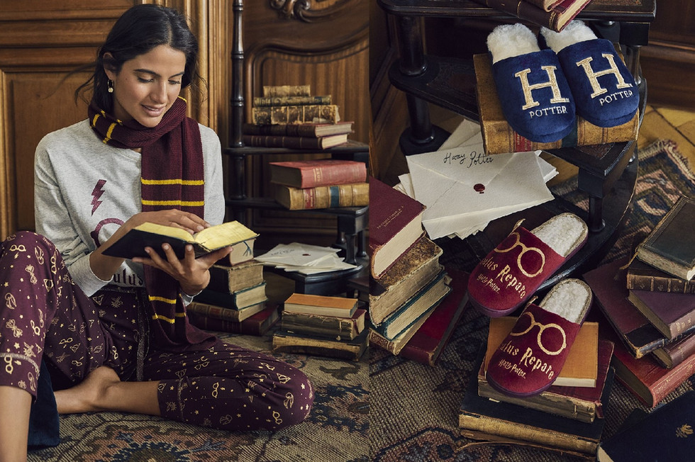 Harry Potter's new collection has just arrived for Christmas