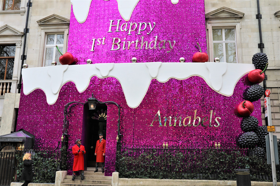 Annabel's: London's most fashionable night club