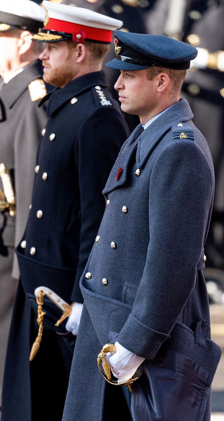 Princes Harry and Wiliam