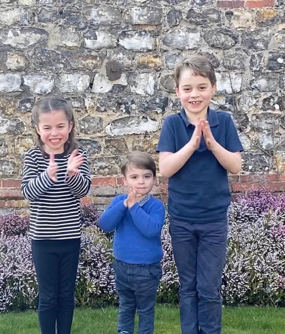Princess Charlotte, Prince Louis and Prince George