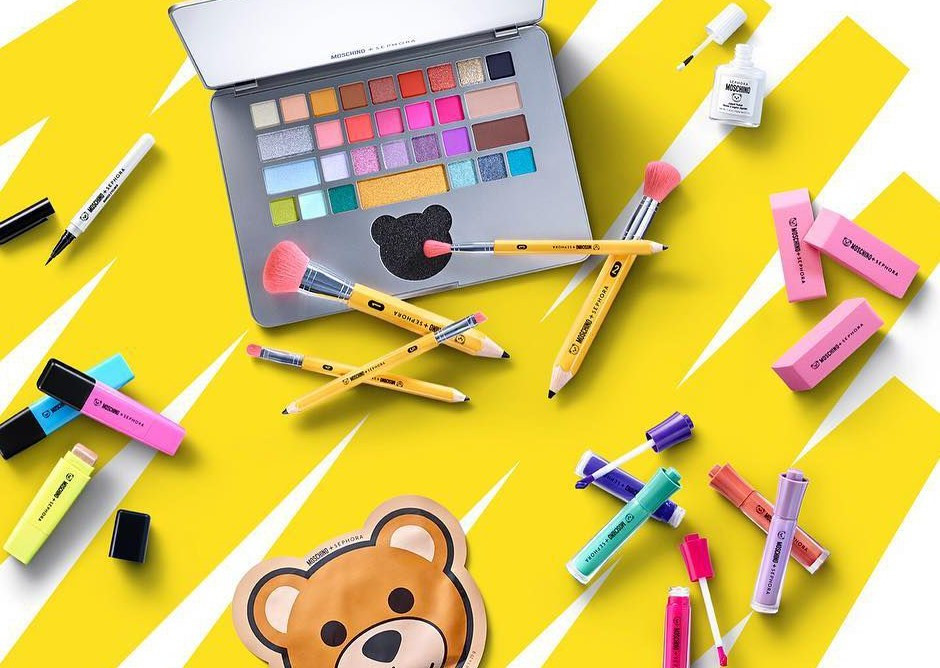 Moschino x Sephora: the new collection that bring us back to school