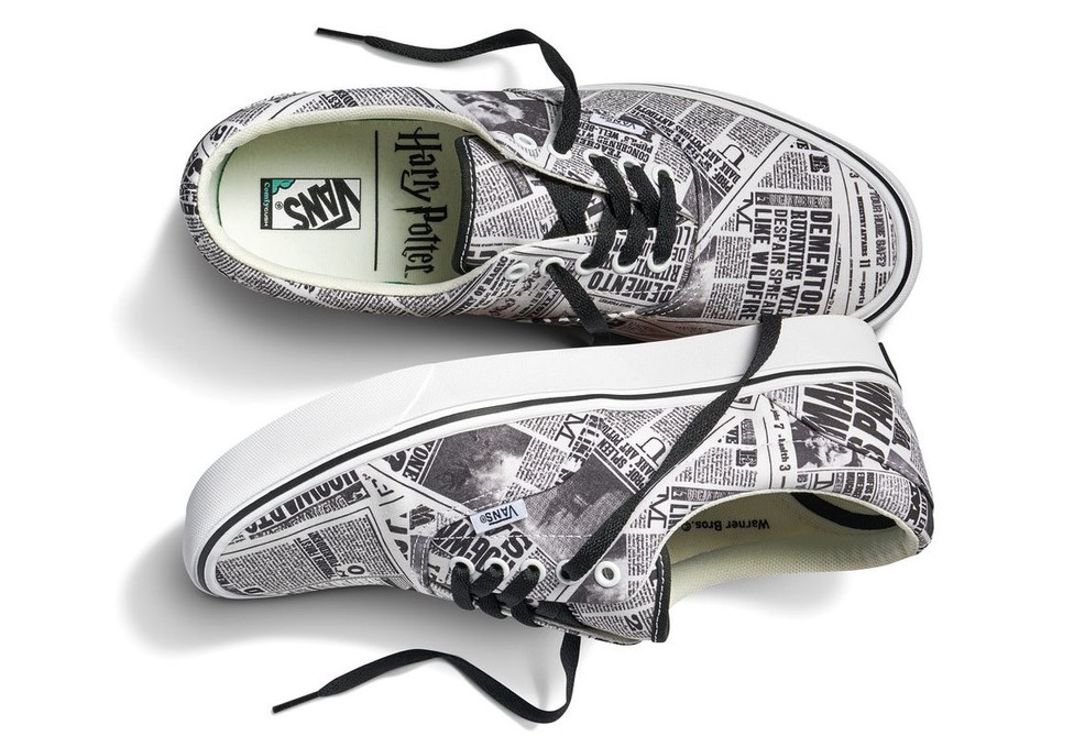 The new Harry Potter collection by Vans