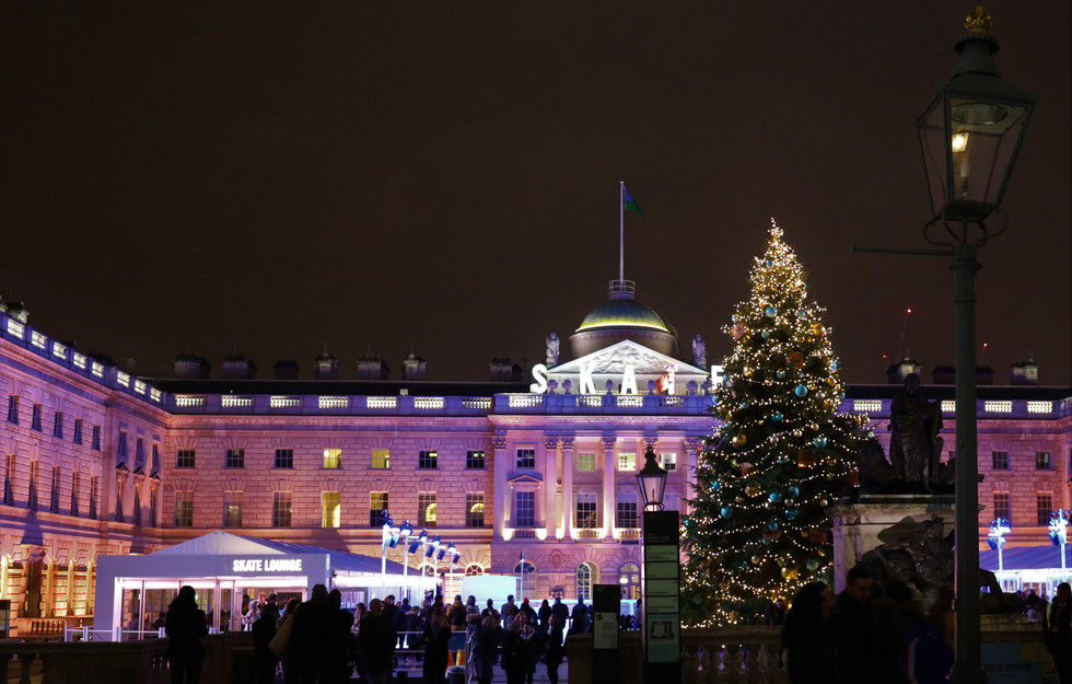 Somerset House Skate: the prettiest ice rink in London
