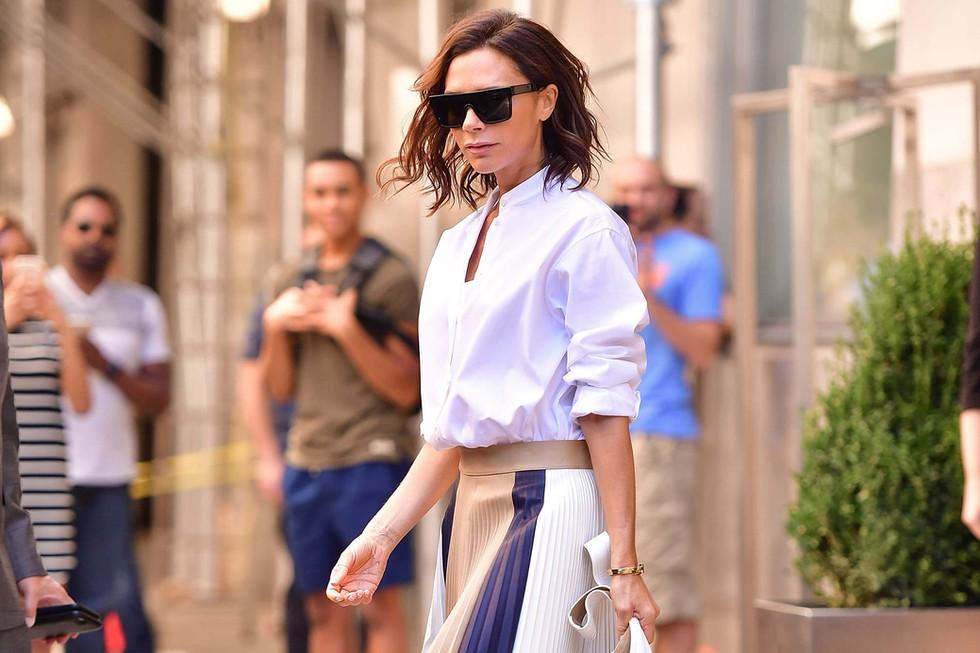 Victoria Beckham's Travelling Beauty Essencials