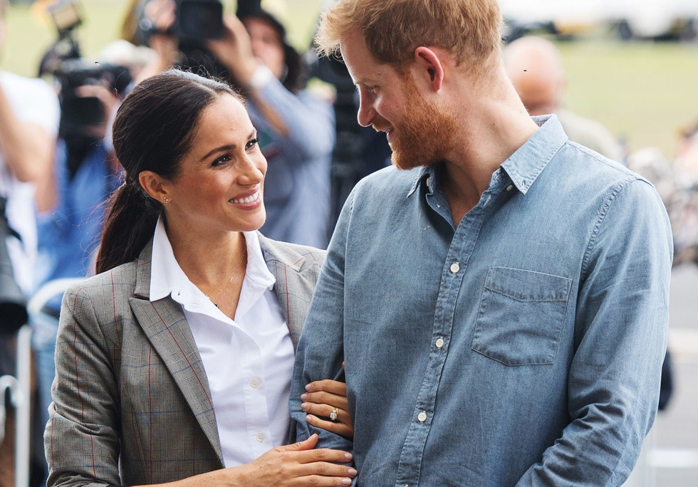 The sweetest looks between Meghan and Harry