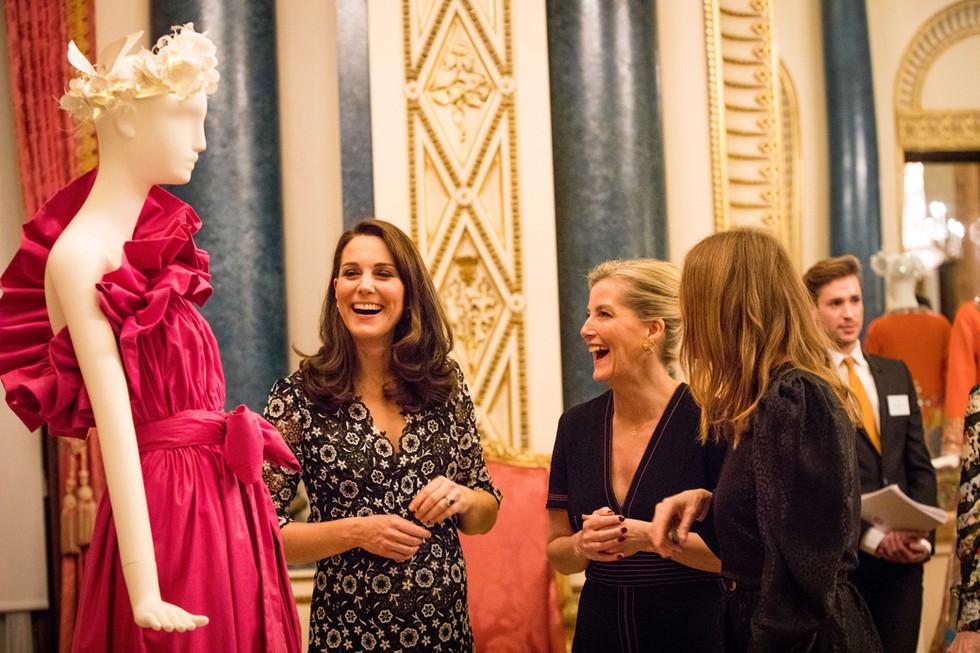 Fashion at Buckingham Palace