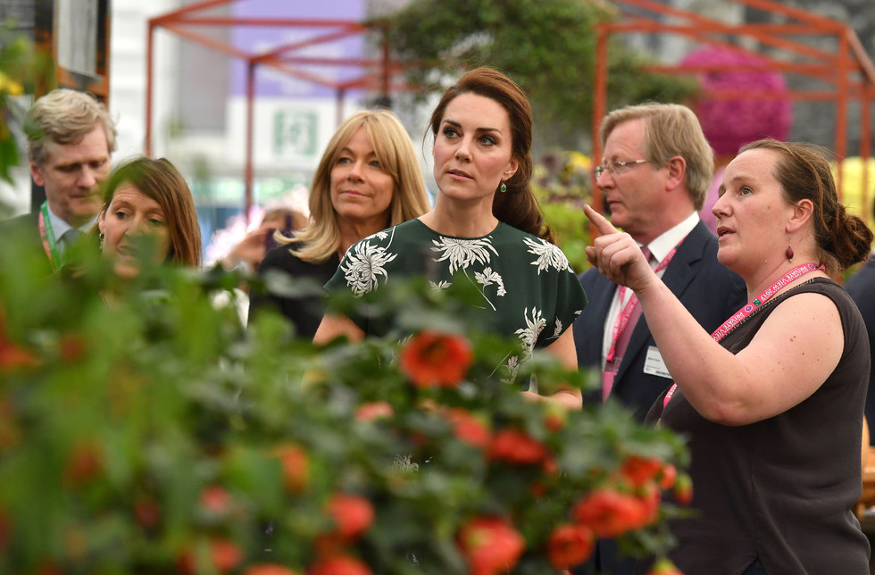 Kate Middleton will design a very special garden
