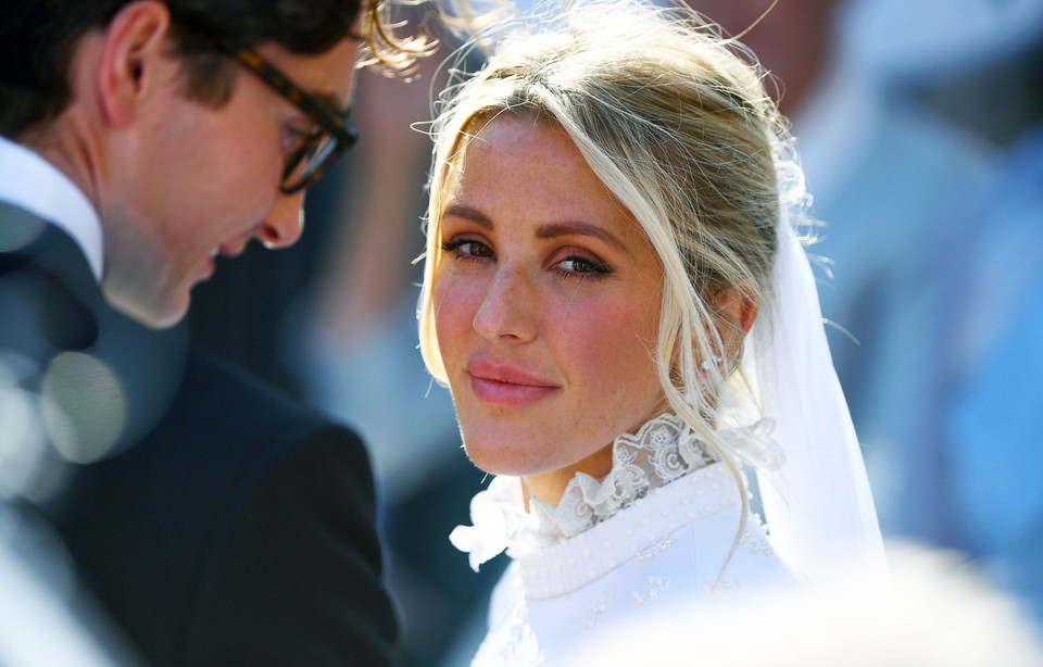 Ellie Goulding's wedding had a royalty guest list