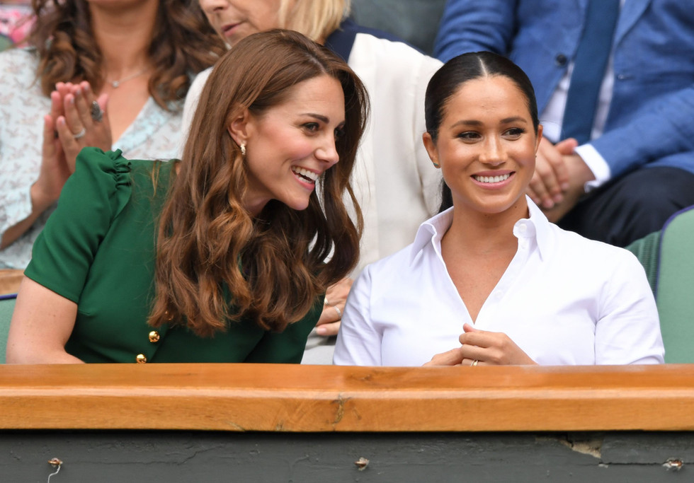 Everything about Kate and Meghan's Wimbledon outing