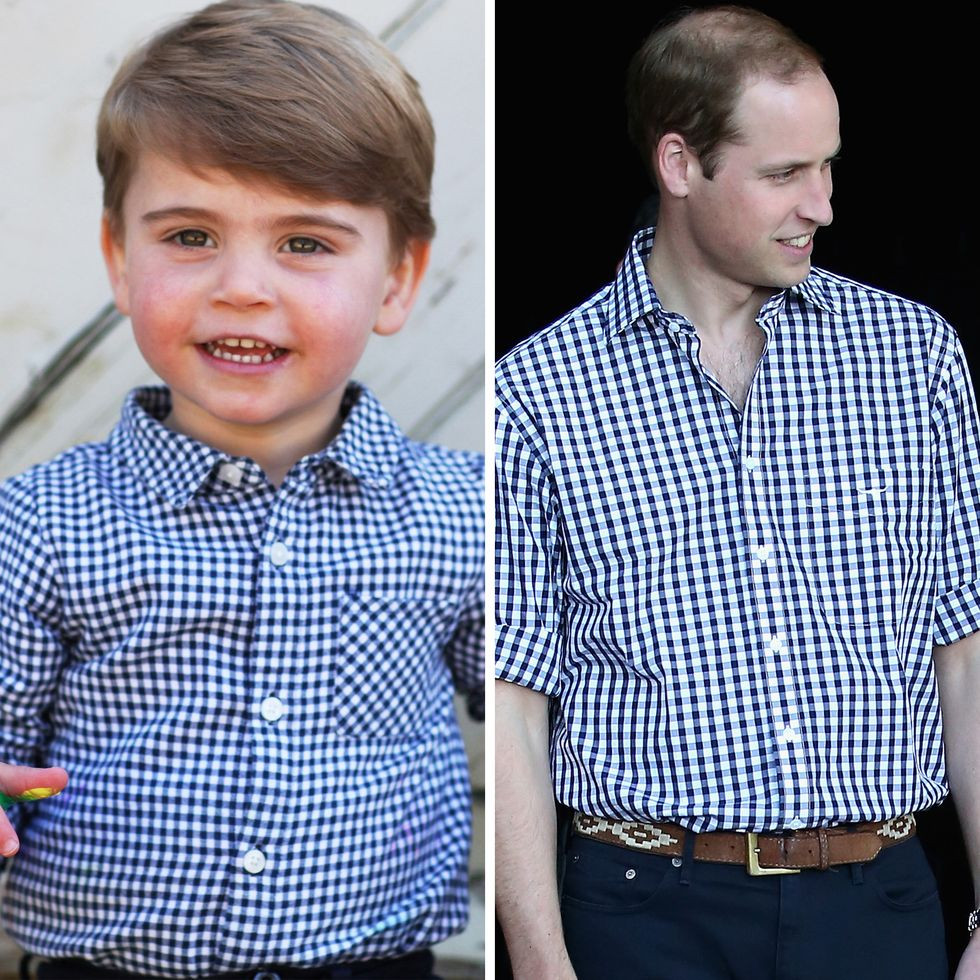 Prince Louis and Prince William