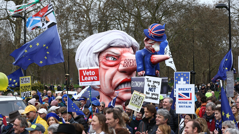 Against Brexit March