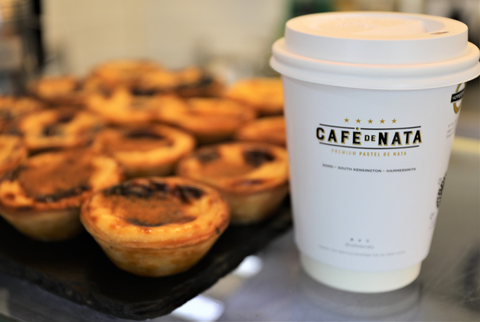 Café de Nata: the place to eat the best new versions of Pastel de Nata