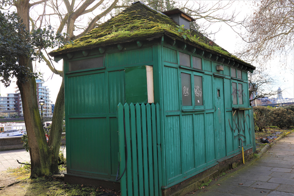 The story behind London's Little Green Shelters