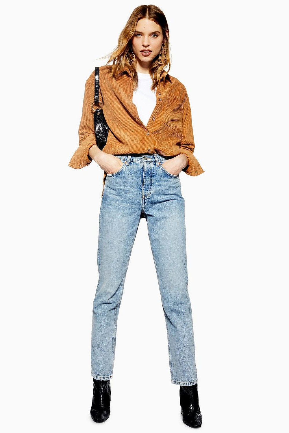 Topshop Bleach Editor Cropped Jeans (49£/68€)