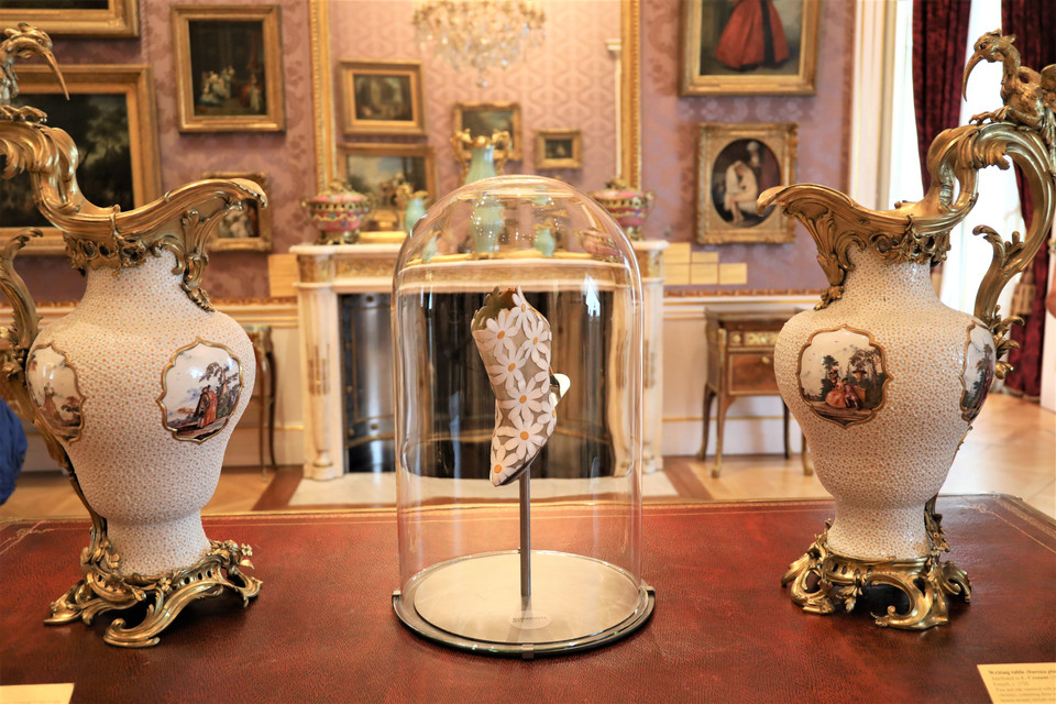 Inside Manolo Blahnik's London exhibition