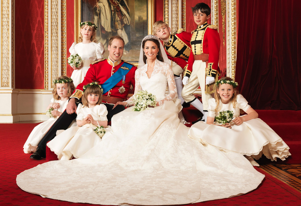 William and Kate's cutest moments and the story behind their wedding photo