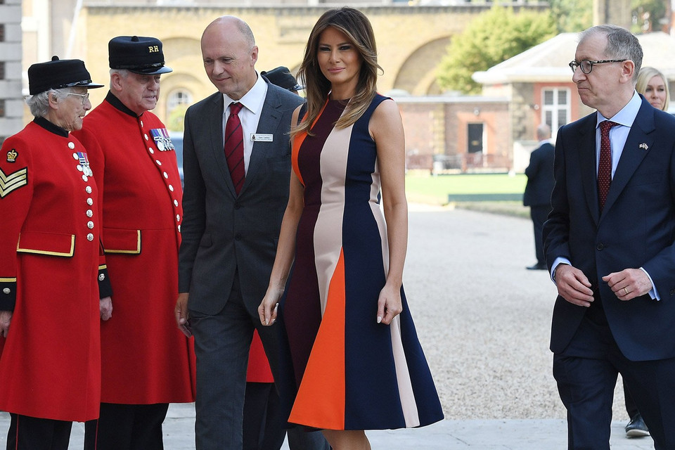 Melania Trump's Fashion Show in London