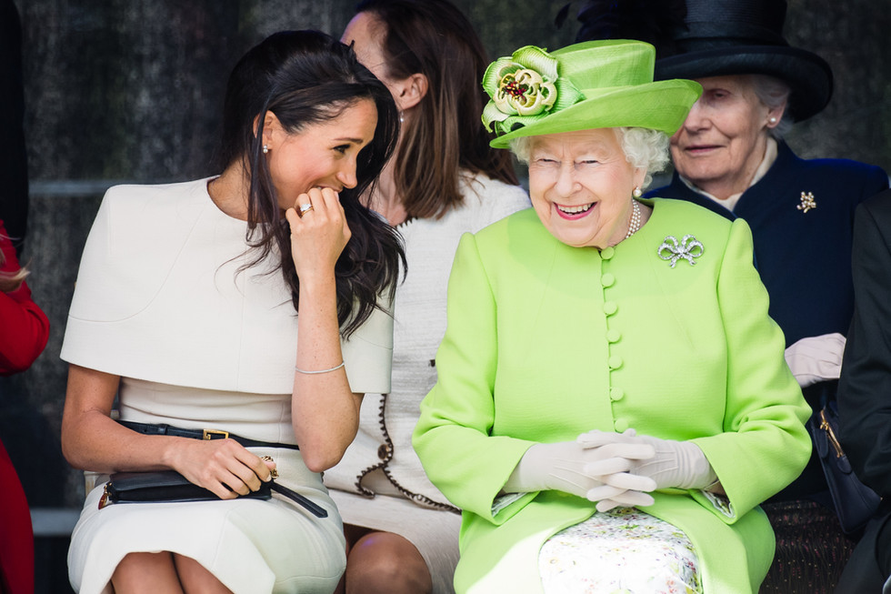 The best of Meghan & the Queen