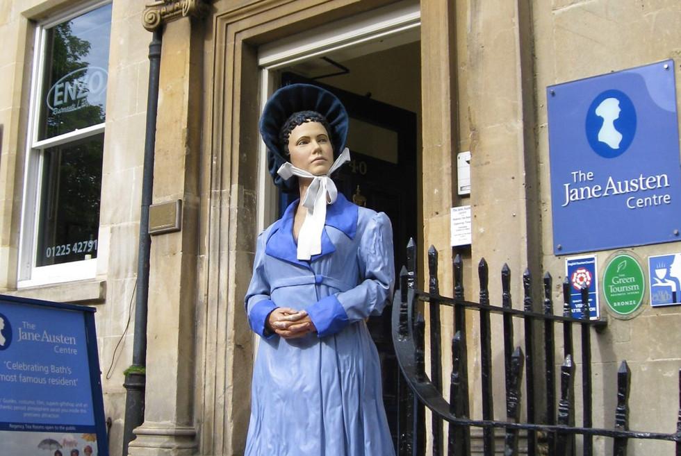 The world of Jane Austen in Bath