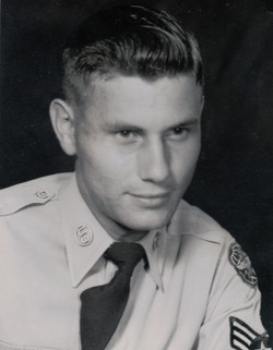 Frank Campbell in the Air Force