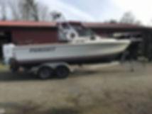 Smoke's 1985 Pursuit 2200 Tiara boat - 9