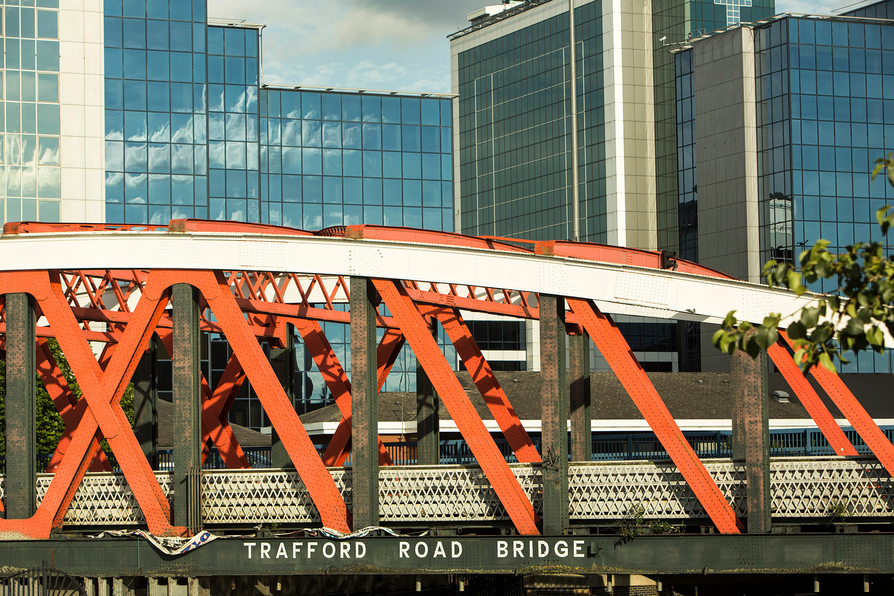Manchester, Trafford Road Bridge