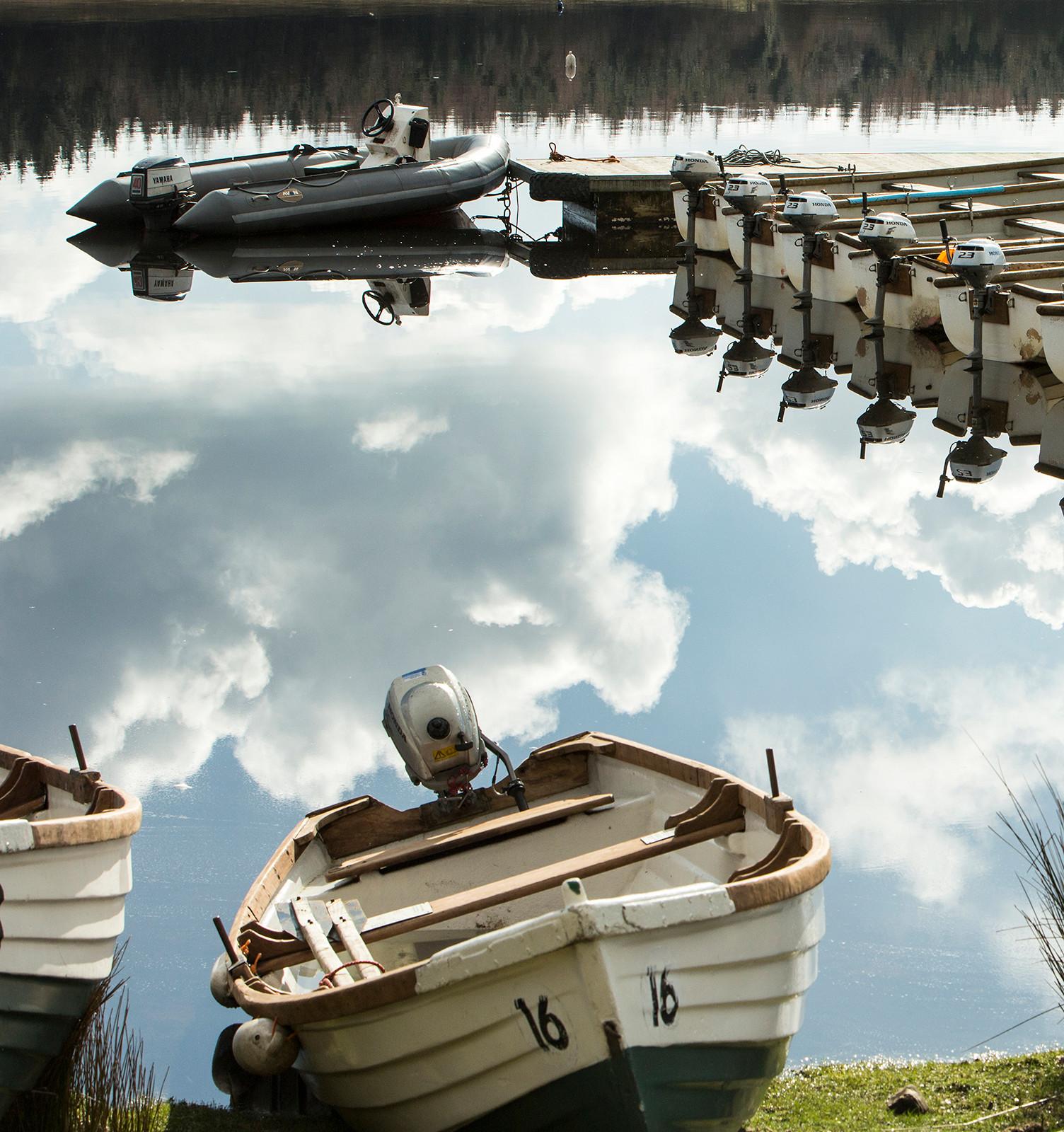 Fishing Boats, Stocks Reservoir