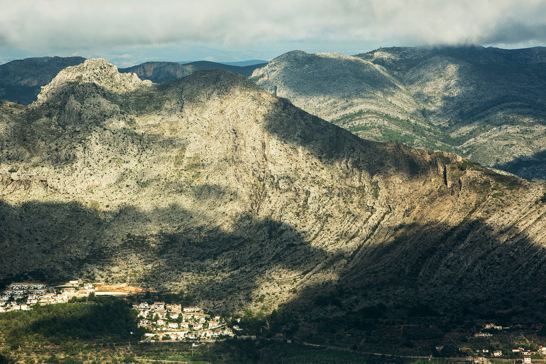 Sierra de Bernia, Tarbena, Alicante, Spain