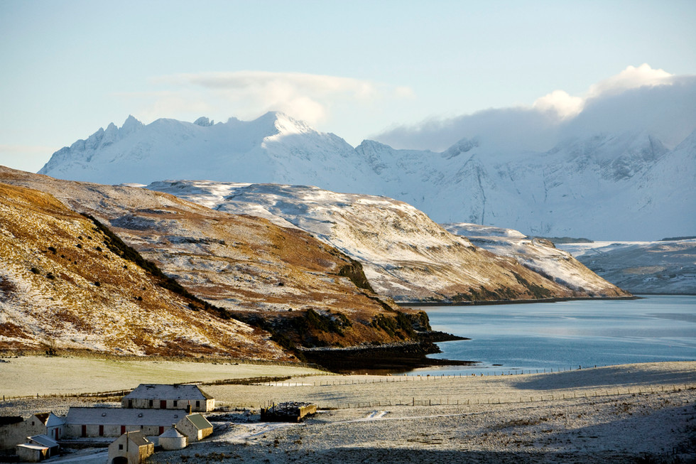 The Cuillin from Gesto