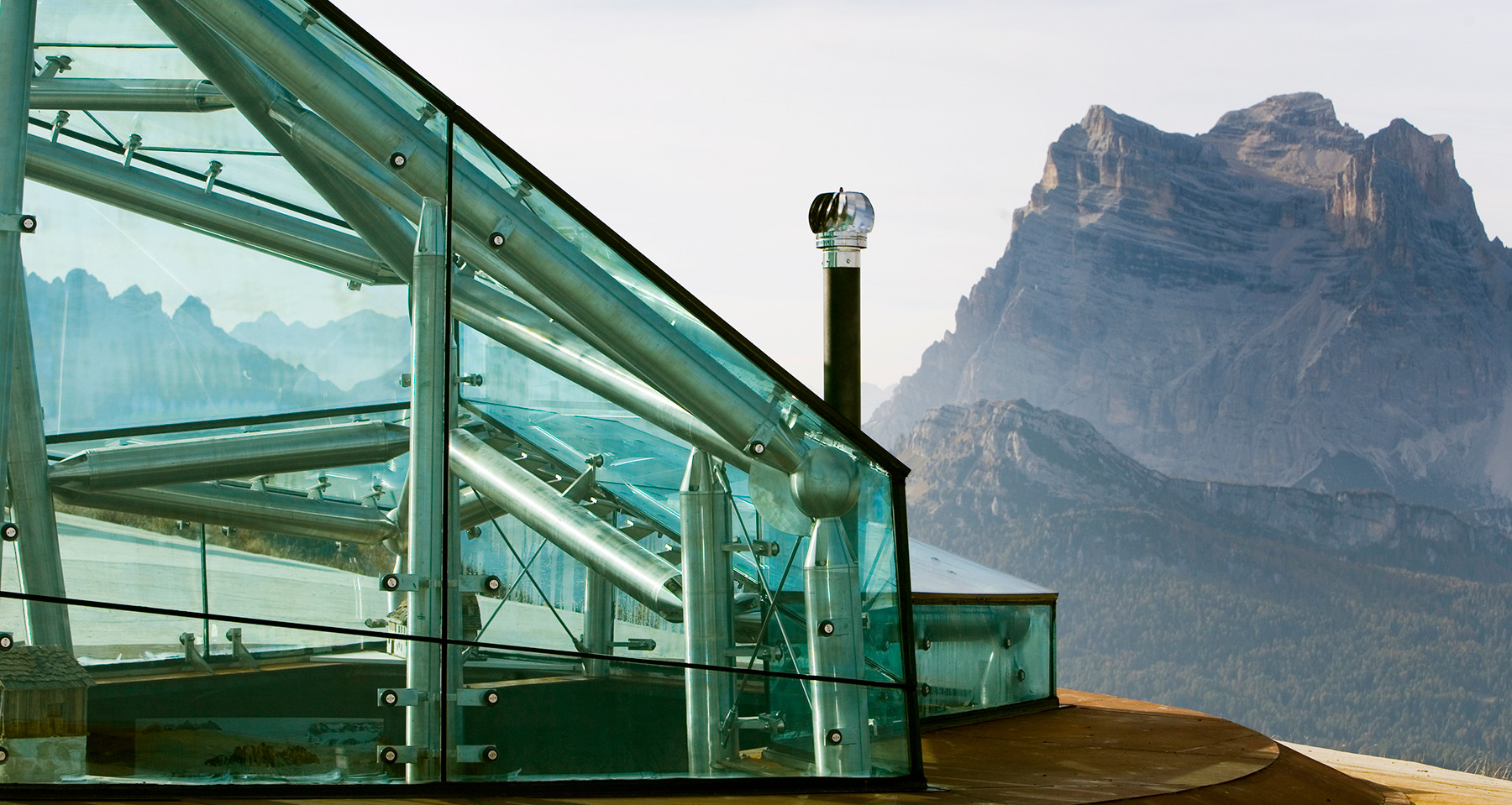 Messner Mountain Museum, Monte Pelmo, Museum in the Clouds, Dolomites