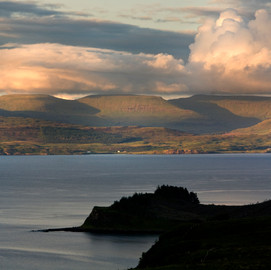 View to Trotternish from the cottage