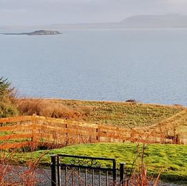 Autumn View, Green Pastures Cottage