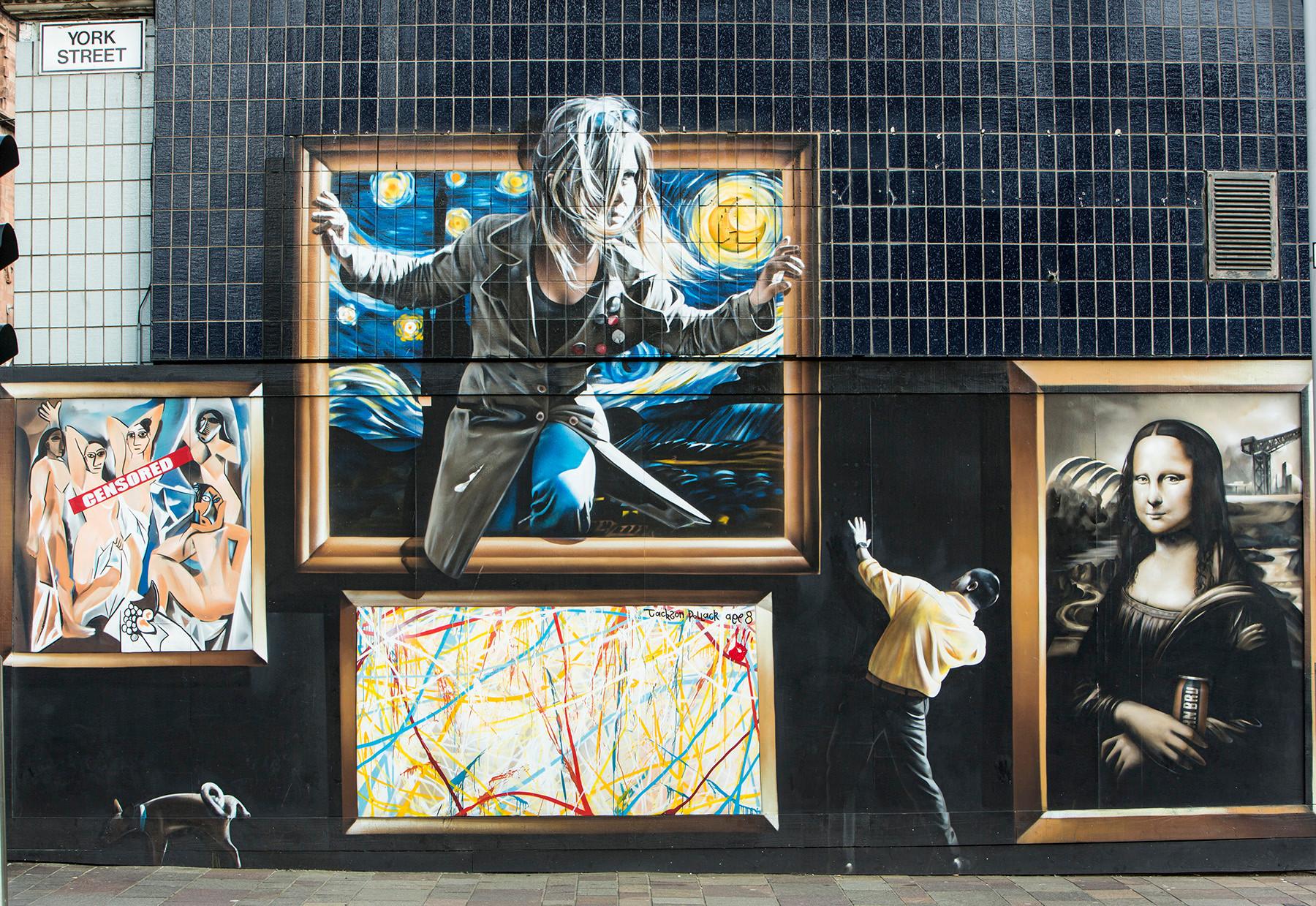 Street Mural, Glasgow