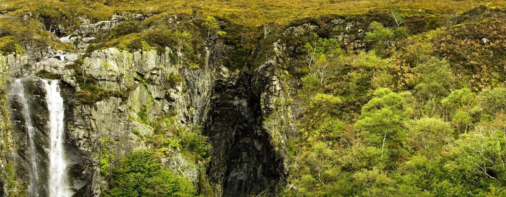 Waterfalls Coire na Creiche