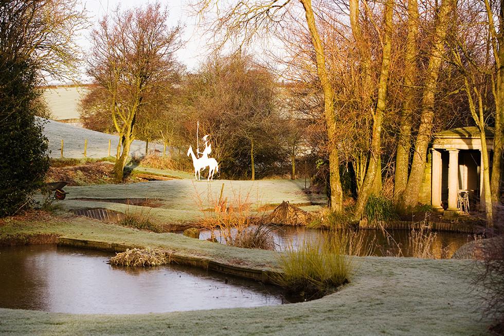 Don Quixote, Clearbeck garden
