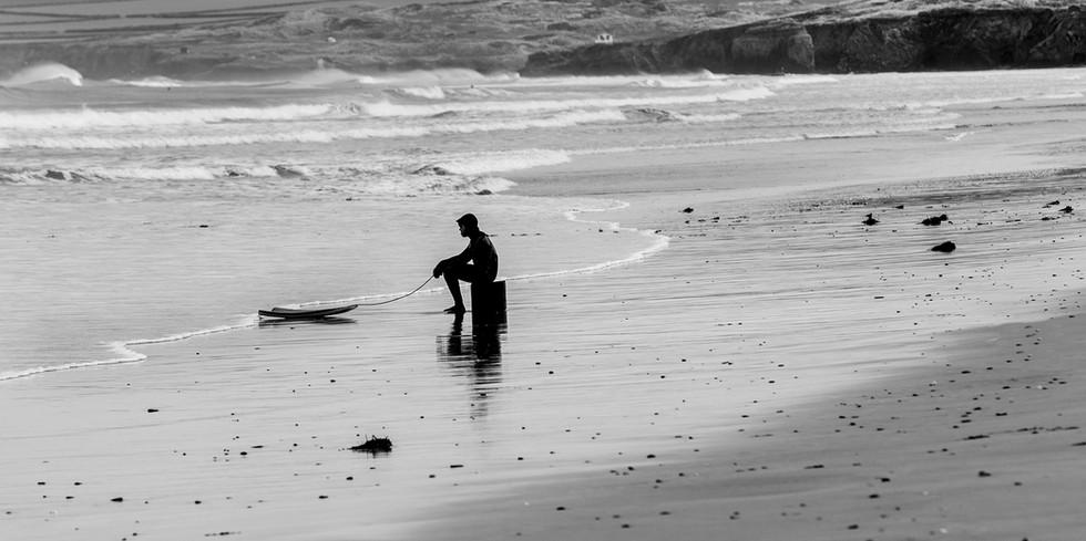 Sad Surfer