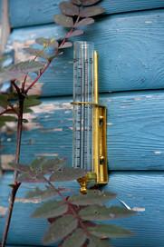 Brass Rain Gauge