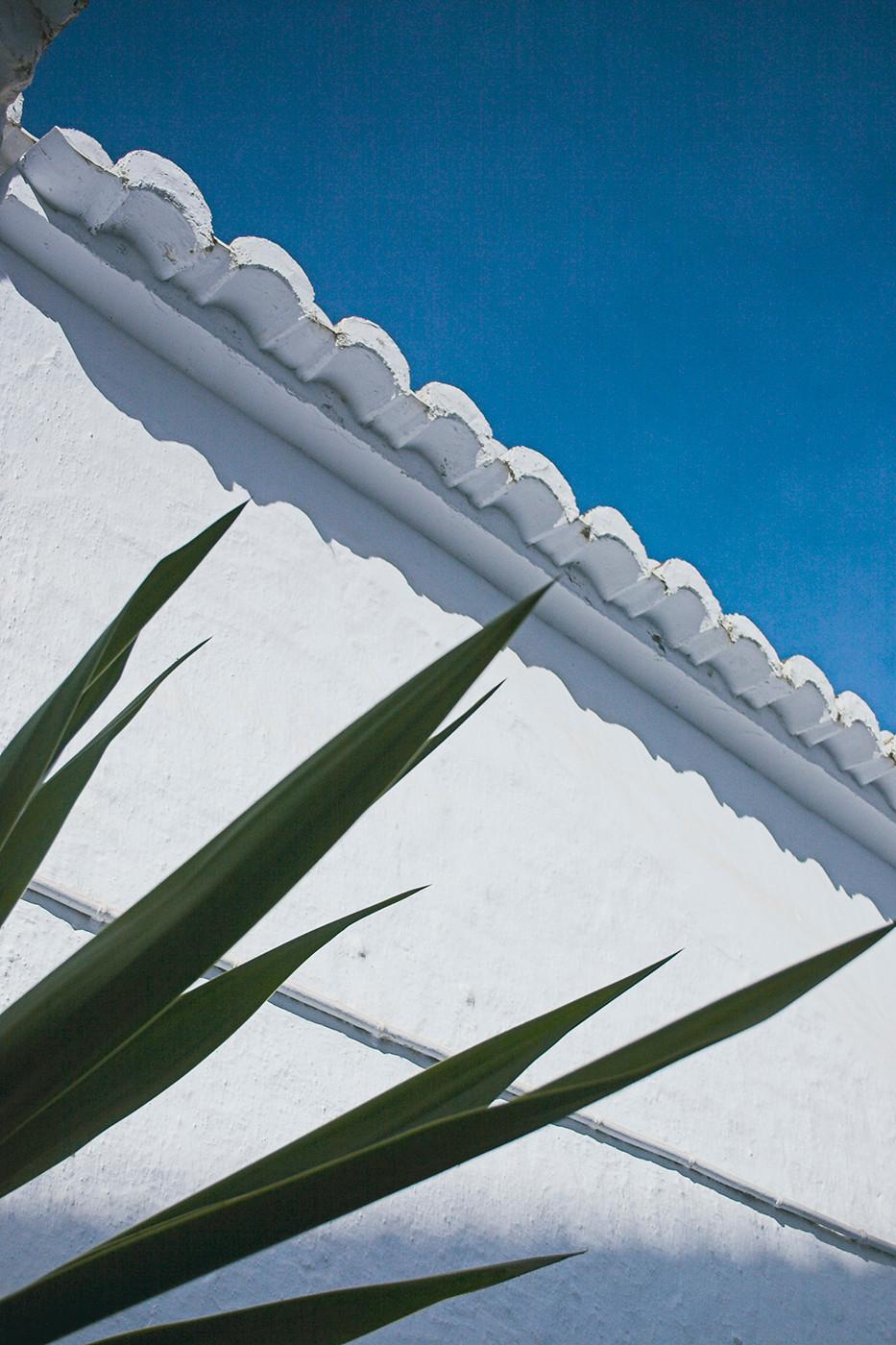 Detail of Pueblos Blancos, Andalucia