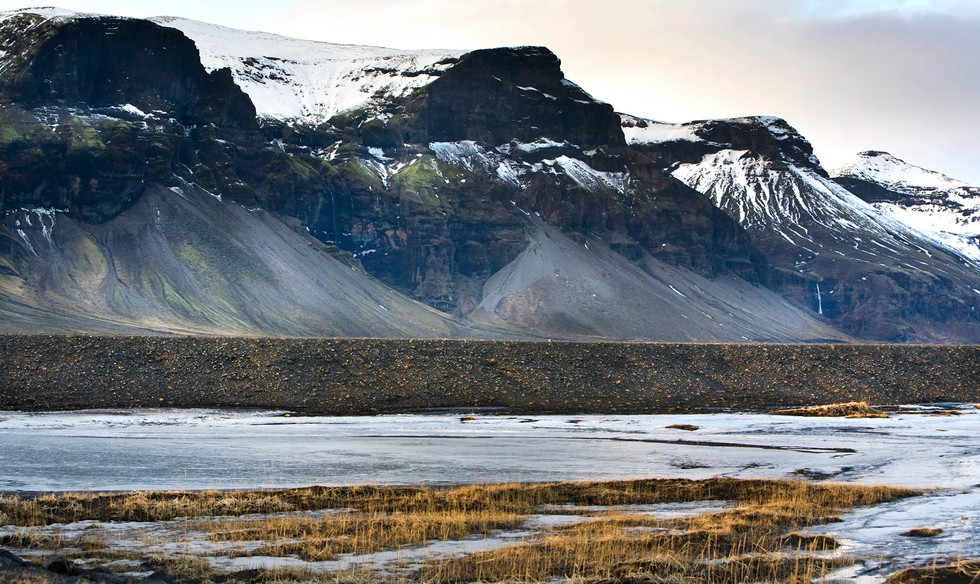 Glacial Moraine, Lomagnupur Iceland