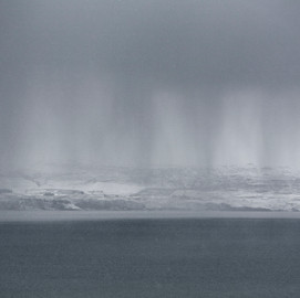 Snow Storm over Uig